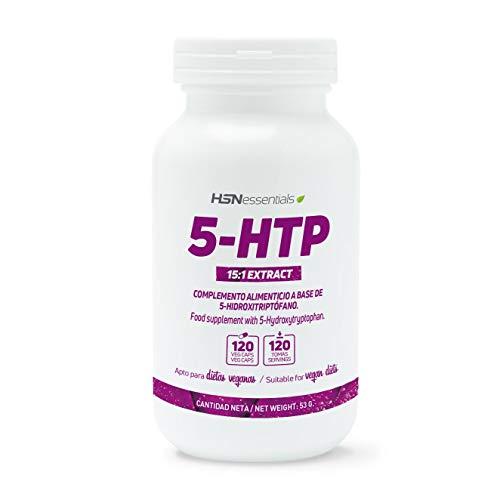 5-HTP 100mg de HSN | Extracto de Semilla de Griffonia | Menos...