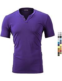 shirt sportive Abbigliamento e it Amazon Camicie T qXOISORwn