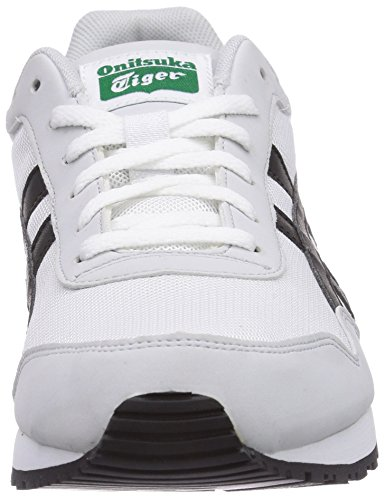 ASICS Curreo, Sneakers Basses adulte mixte Blanc (0184-White/Black)