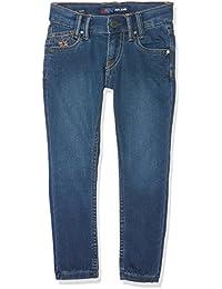 Pepe Jeans Sneaker, Niñas, Azul (Denim), 3 años