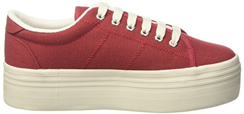 Jeffrey Campbell Zomg, Scarpe Indoor Multisport Donna Rosso