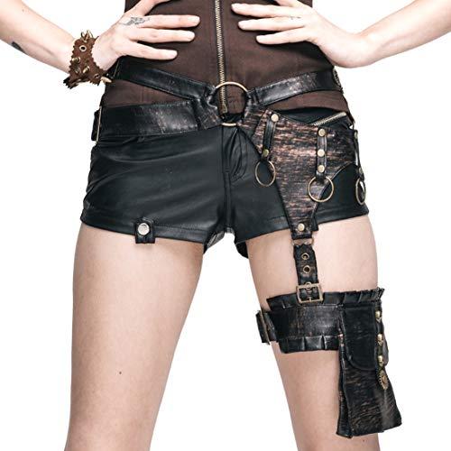 r Drop Bein Hüfttasche mit Gears Decor Gothic Motorrad Oberschenkel Holster Tasche für Frauen (Farbe : Style1) ()