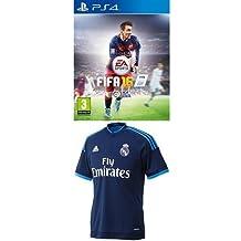 7c7890c1e8696 FIFA 16 + 3ª Equipación Real Madrid CF - Camiseta oficial adidas