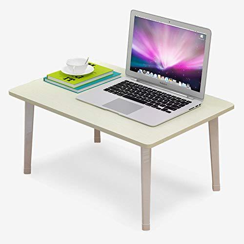 Ahorn Stahl Schreibtisch (DX Klapptisch Bett Computertisch Klappschreibtisch Esstisch 60 * 40 Stahl Holz Weiß Ahorn Weiß)