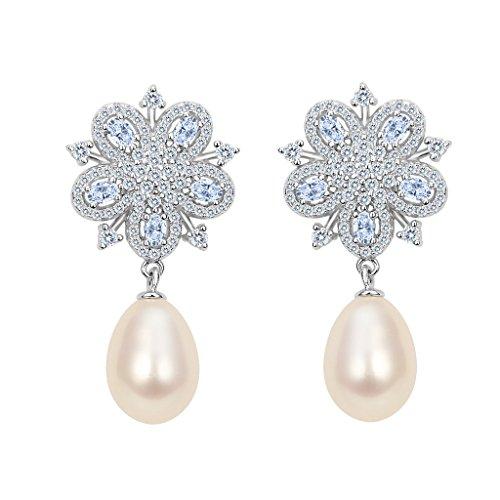 Ever Faith-Orrechini Donna con Argento e perla