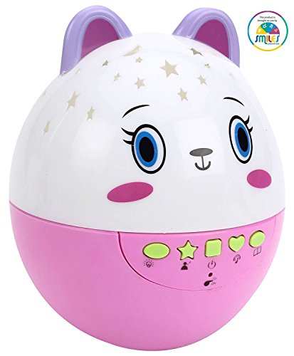 Smiles Creation Stars Projectors sound Clever Egg with light & song