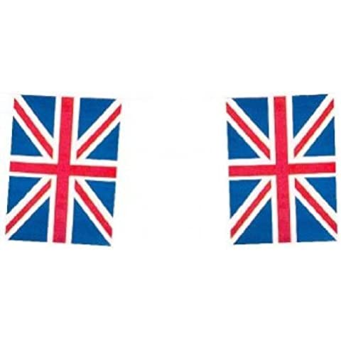Union Jack Flag Bunting, 10 Metres 20 flags, ideal for jubilee by Heaton