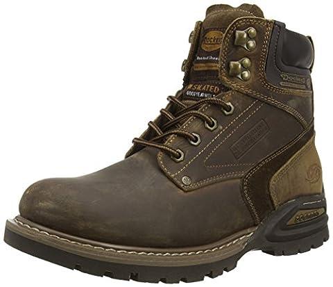 Dockers by Gerli 27YN006-402460, Herren Combat Boots, Braun (desert 460), 43 EU