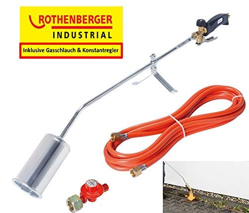Rothenberger Industrial GmbH 1000000234 Romaxi Eco Etancheur et Désherbeur Thermique, Noir