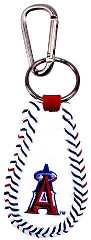 MLB Anaheim Angels Stars and Stripes Classic Baseball Keychain
