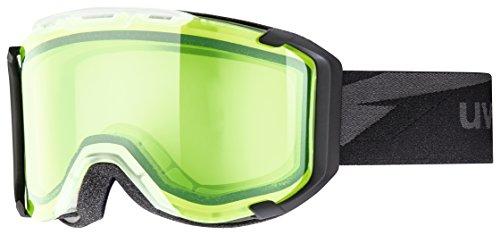 Uvex Erwachsene Snowstrike Skibrille, Grün, One size