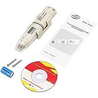 Hauggen1 BENETECH GM1365 Humedad Temperatura Registrador de Datos Medidor LCD Digital Auto USB Flash Disk Tipo de Pluma Registrador Termómetro