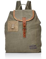 Scalpers 17 Mile Bagpack, Bolsa para Hombre, Khaki, UNICA