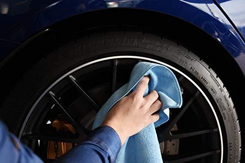extra assorbente Home-Tex per la pulizia di auto e casa 300 g//m2 Panno in microfibra di alta qualit/à