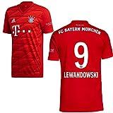 adidas FCB FC Bayern München Trikot Home Heimtrikot 2019 2020 Herren Lewandowski 9 Gr L