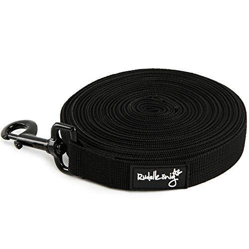 Rudelkönig Schleppleine für Hunde - perfekt geeignet als Übungs- & Trainingsleine - 10m (20m) - mit Aufbewahrungsbeutel - wetterfest & robust
