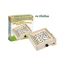 Teorema 40173 – Labirinto, Legno