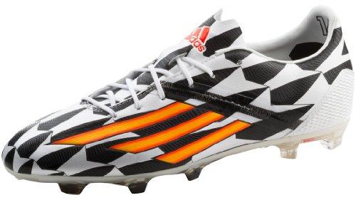 Adidas Fussballschuhe Gr Ca 44 neon-orange mit Blau  Fußballschuh