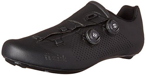 Fizik R1B - Zapatillas de ciclismo, Unisex adulto, Negro, 44½
