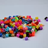 Hama/Perler Beads 5mm (Midi Beads) Multi-Mix Colors (1000 Count Bead) Kids Toy for Fun Crafting and DIY Activity Fuse Bead Multicolor Creative Intelligence Montessori Educational Toys…