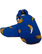 SKIPS Comfortable Baby Booties Shoes for Baby Girl & Boy - Banana Print