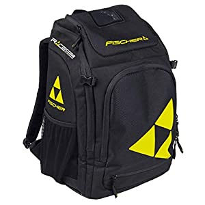 Fischer Unisex– Erwachsene Boot/Helmet Backpack Alpine Race 36L, schwarz/gelb, 36 Liter