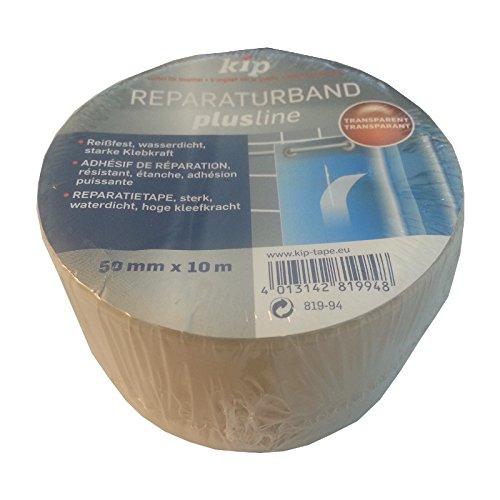 Kip Reparaturband 50mm x 10m Profi Qualität transparent Reparatur Klebeband Bad