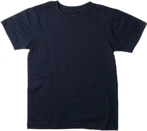 Hanes Jungen T-Shirt, Crew - Blau - Royal Blue - 12 Jahre - Hanes Kinder T-shirt