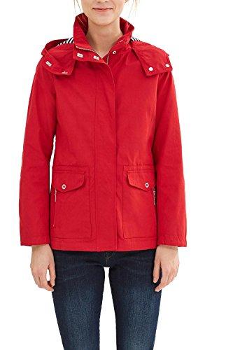 Esprit 037ee1g007, Blouson Femme, Rouge (Red), 34