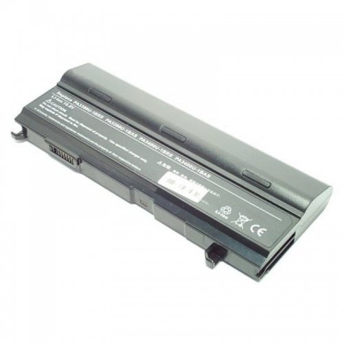 Batterie, Li-Ion, 10.8 V, 8800 mAh, noir, Double Capacité pour Toshiba Satellite A100-00 A