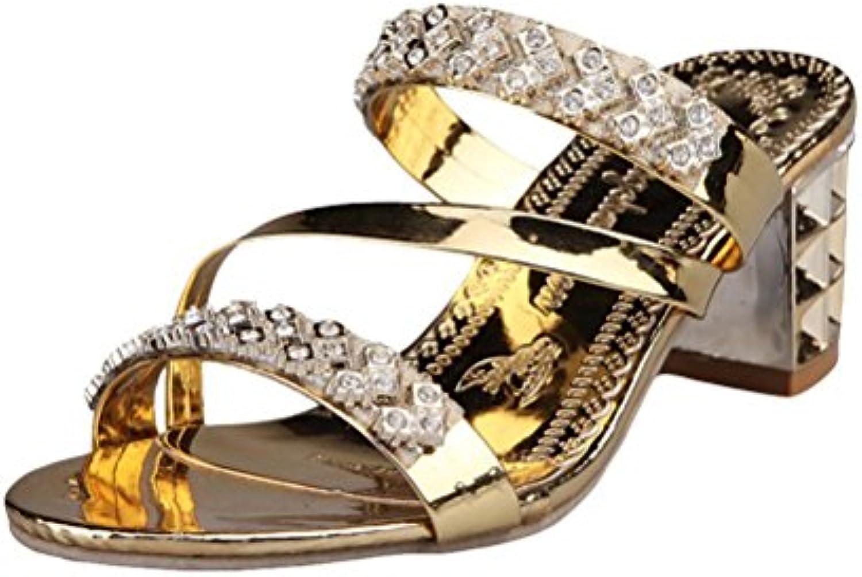 Sandalias Mujer Verano, Manadlian Sandalias de Verano Chanclas Zapatos de Playa Calzado Mujer Sneakers Cuñas Mujer...