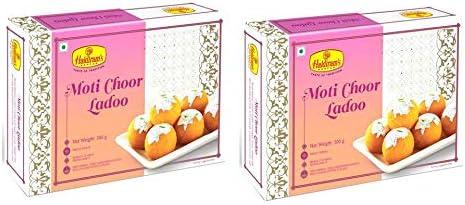 Haldiram's Nagpur Motichoor Laddu (Pack Of 2)