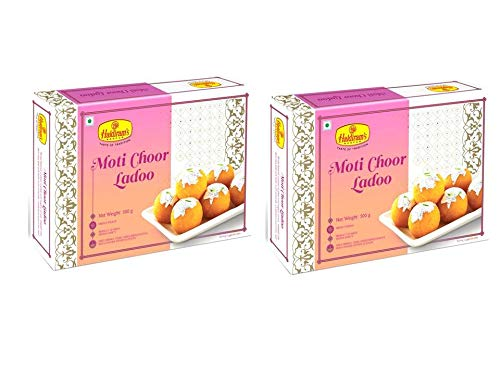Haldiram's Nagpur Motichoor Laddu (Pack Of 2)