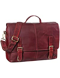 STILORD  Manuel  Borsa lavoro donna pelle Portadocumenti uomo grande  vintage borsa ventiquattrore porta pc 19eaefa5ae9