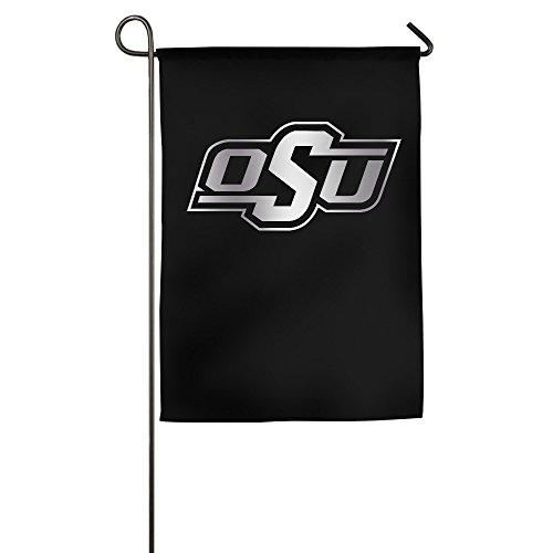 lyfh-gn Oklahoma State Cowboys Platinum Logo Garten Flagge (Garten Cowboys)