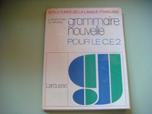 Grammaire nouvelle, CE2
