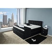 suchergebnis auf f r boxspringbett 180x200. Black Bedroom Furniture Sets. Home Design Ideas