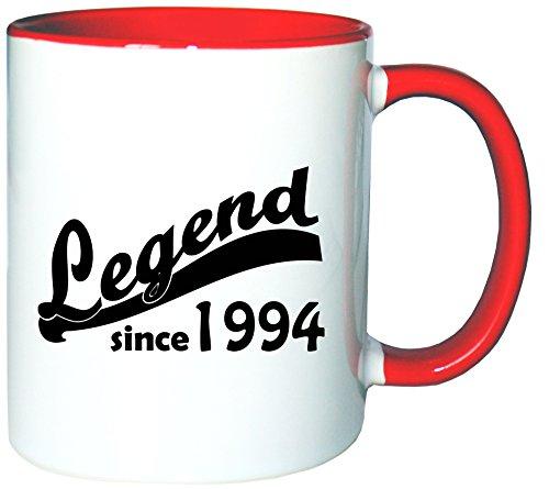 Mister Merchandise Tazzine da caffè Coffee Legend since 1994 21 22 Tazze grandi Tazza Teiere molti colori