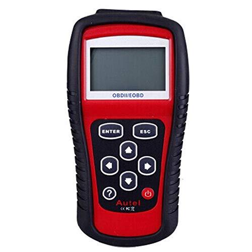 HTSHOP Kfz-Fehlerdiagnoseinstrument, MS509 OBD2 Scanner Code Reade, Kfz-Fehlerdetektor, leistungsstarke OBDII-Diagnosescannerfunktion, Unterstützung mehrerer Sprachen Cid Lcd