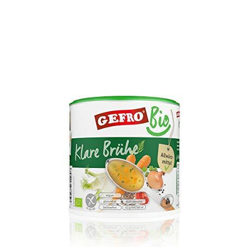 GEFRO Bio Klare Gemüsebrühe 400g
