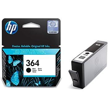 HP 364 Schwarz Original Druckerpatrone für HP Deskjet