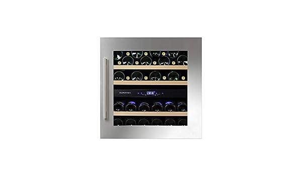 Kühlschrank Minibar Getränkekühlschrank Silber A Edelstahl Glastür 80l : Sparsame kühlschränke günstig online kaufen lidl