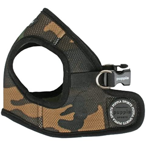 Puppia Giacca soft Harness, Medium, Camo