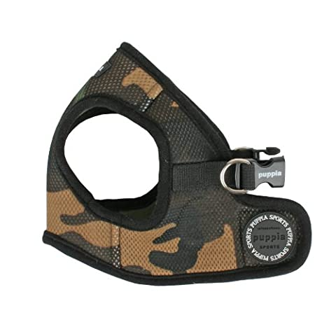 Puppia Soft Jacket Harness, Medium, Camo