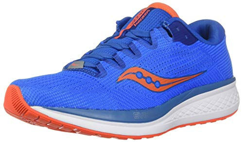 Saucony Jazz 21, Scarpe Running Uomo, Blu (Blue/Orange 36), 44 EU