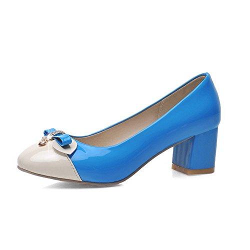 Mosaico Blu Piazza Donna Luce Stato Coda Voguezone009 In Pelle Scarpe Della Giusta È n4wFRg