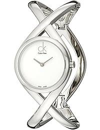 Calvin Klein K2L24120 Orologio da polso, Analogico quarzo, Acciaio inossidabile, Donna, taglia unica