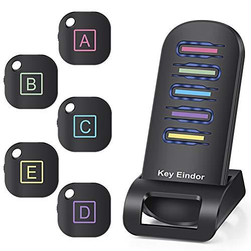ALIENGT Schlüsselfinder Wireless Key Finder mit 5 Empfänger RF Item Locator, Item Tracker Support Fernbedienung, Endlich kein Suchen mehr, EIN Durchdachtes Geschenk für Ihre Familie