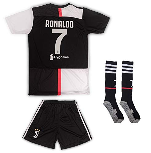 AND Juventus # 7 Ronaldo 2019/2020 - Camiseta Manga