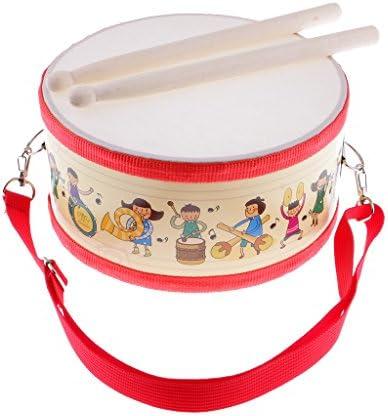 SM SM SM SunniMix 1 Set de Caisse Claire de Percussion à Main avec des bâtons de Bois pour Les  s des Jouets musicaux | Moins Coûteux  4bfdb5